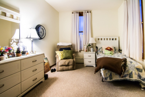 Brown Wilcox Assisted Living has private rooms